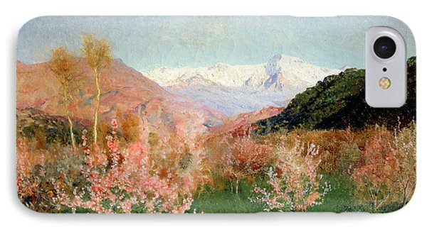 Spring In Italy Phone Case by Isaak Ilyich Levitan