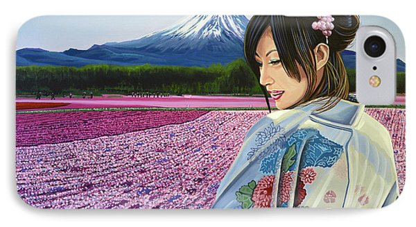 Spring In Japan IPhone Case