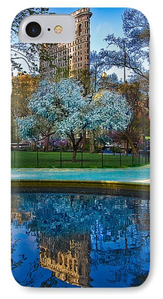 Spring In Madison Square Park Phone Case by Chris Lord
