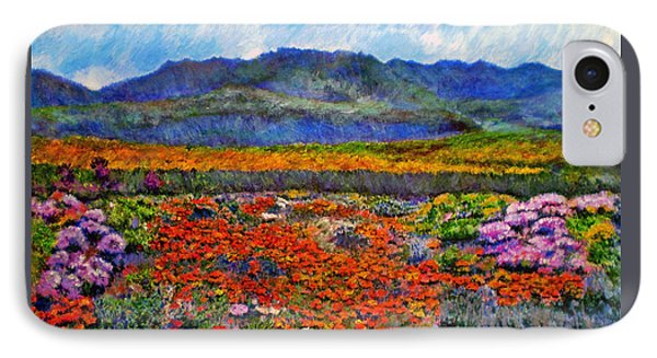 Spring In Namaqualand Phone Case by Michael Durst