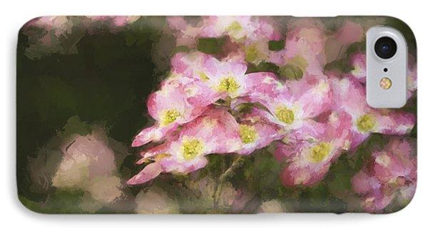Spring In Pink IPhone Case by Linda Blair