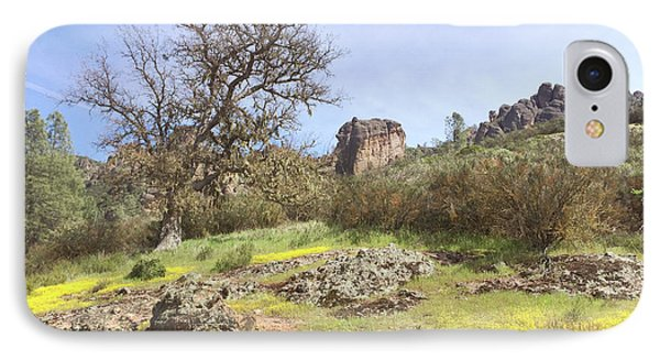 IPhone Case featuring the photograph Spring In Pinnacles National Park by Art Block Collections