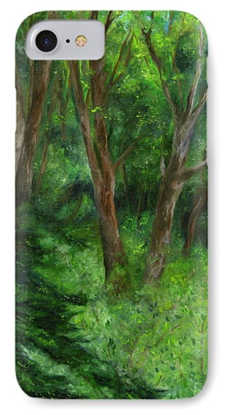 Spring In The Forest IPhone Case by FT McKinstry