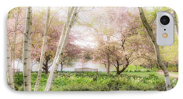 IPhone Case featuring the photograph Spring In The Garden by Julie Palencia