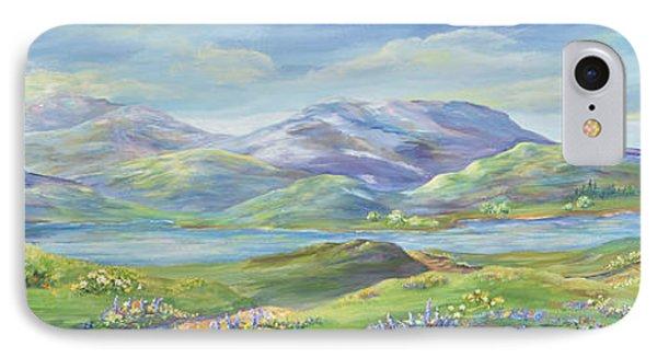 Spring In The Okanagan Valley IPhone Case by Malanda Warner