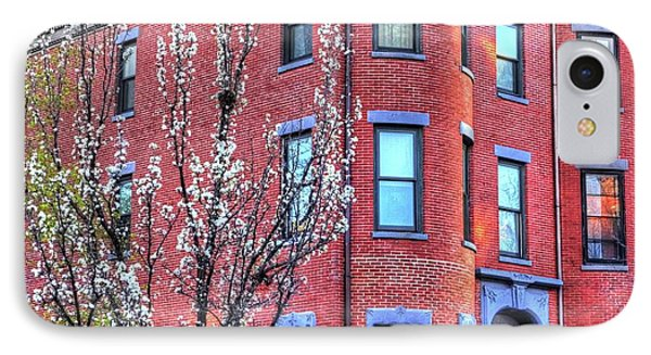 Spring In The South End Boston Ma IPhone Case by Toby McGuire