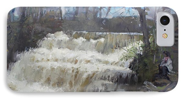Spring In Williamsville Falls IPhone Case