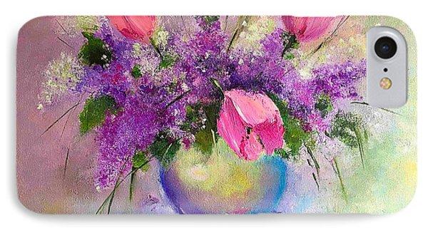 Spring Is Beautiful IPhone Case by Viktoriya Sirris