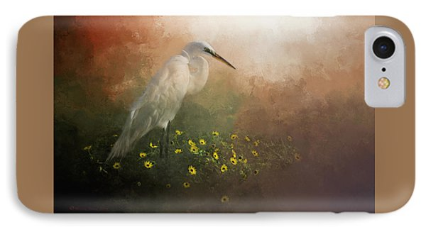 Egret iPhone 7 Case - Spring Is Here by Marvin Spates
