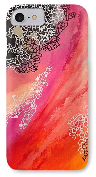 Squiggles And Wiggles #2 IPhone Case by Suzzanna Frank