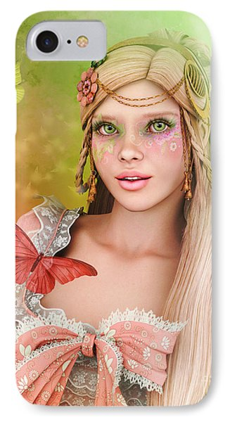 IPhone Case featuring the digital art Spring Is In The Air by Jutta Maria Pusl