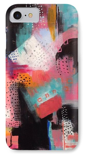 Squiggles And Wiggles  #7 IPhone Case by Suzzanna Frank