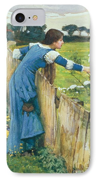 Spring IPhone Case by John William Waterhouse