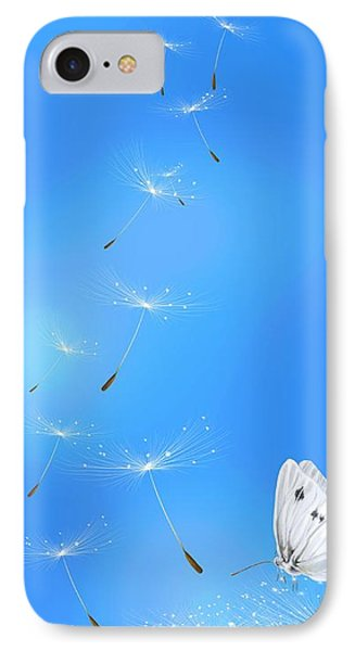 IPhone Case featuring the painting Spring Lightness by Veronica Minozzi