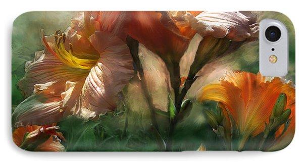 Spring Lilies Phone Case by Carol Cavalaris
