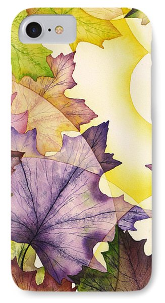 Spring Maple Leaves Phone Case by Christina Meeusen