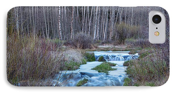Spring Melt Off Flowing Down From Bonanza IPhone Case by James BO Insogna