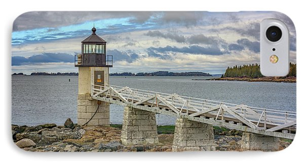 IPhone Case featuring the photograph Spring Morning At Marshall Point by Rick Berk