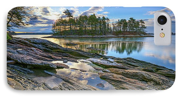 Spring Morning At Wolfe's Neck Woods IPhone Case by Rick Berk