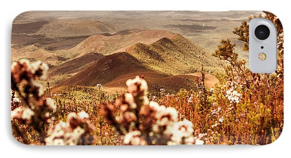 Spring Mountain Blossoms IPhone Case