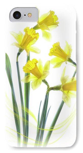 Spring Narcissus IPhone Case