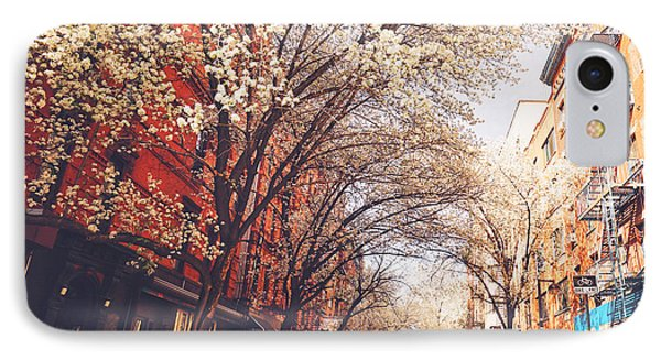 Spring - New York City - Lower East Side IPhone Case