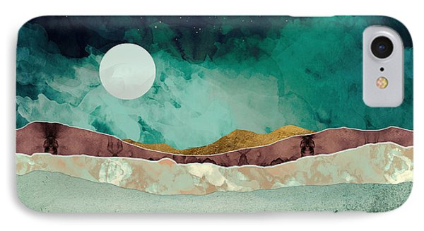 Landscapes iPhone 7 Case - Spring Night by Katherine Smit
