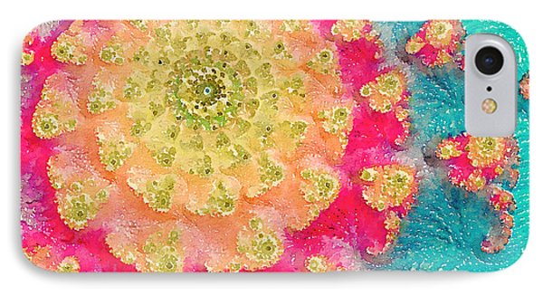IPhone Case featuring the digital art Spring On Parade 2 by Bonnie Bruno