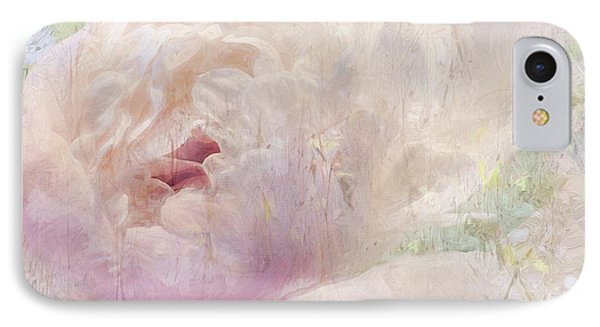 Spring Peony IPhone Case by Karen Lynch