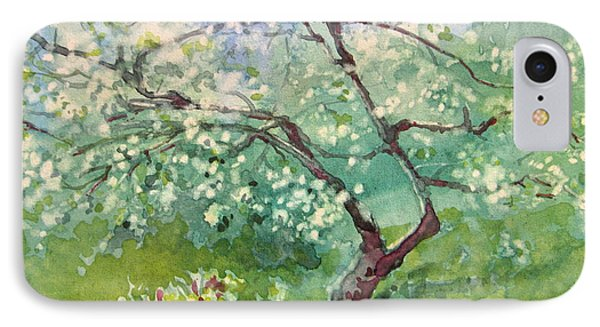 Spring Plum IPhone Case by Elizabeth Carr