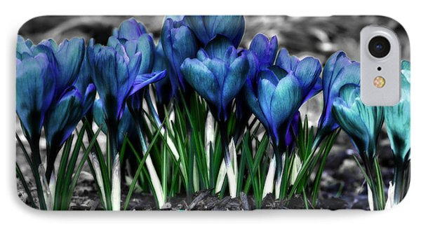 IPhone Case featuring the photograph Spring Rebirth - Text by Shelley Neff