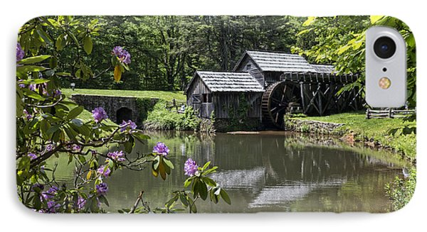 Spring Reflections Of An Ancient Mill IPhone Case