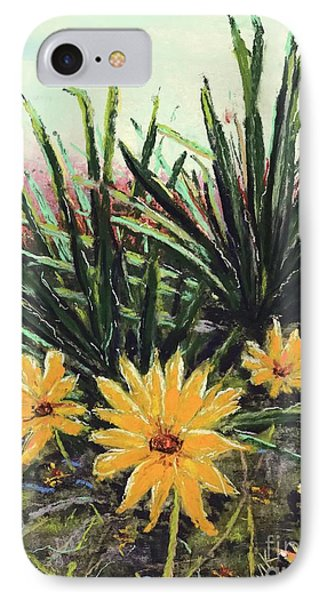 IPhone Case featuring the pastel Spring Rising by Vickie Scarlett-Fisher