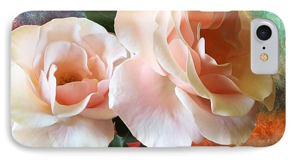 IPhone Case featuring the photograph Spring Roses by Gabriella Weninger - David