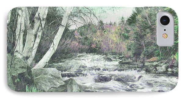 Spring Runoff IPhone Case by John Selmer Sr