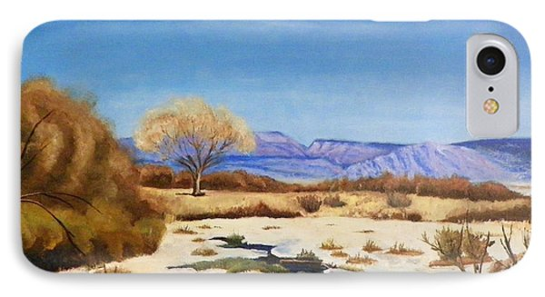 IPhone Case featuring the painting Spring Runoff by Sherril Porter