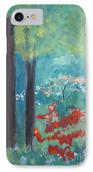 IPhone Case featuring the painting Spring by Sandy McIntire