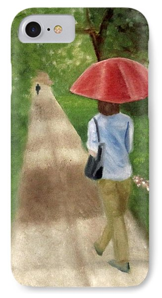 IPhone Case featuring the painting Spring Series I by Patricia Cleasby