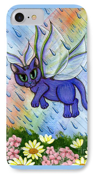 Spring Showers Fairy Cat IPhone Case