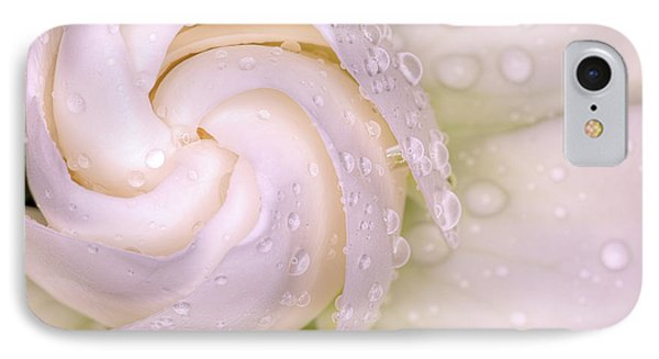Spring Showers On The Gardenia IPhone Case by JC Findley