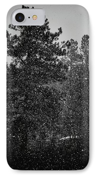 Spring Snowstorm IPhone Case by Jason Coward
