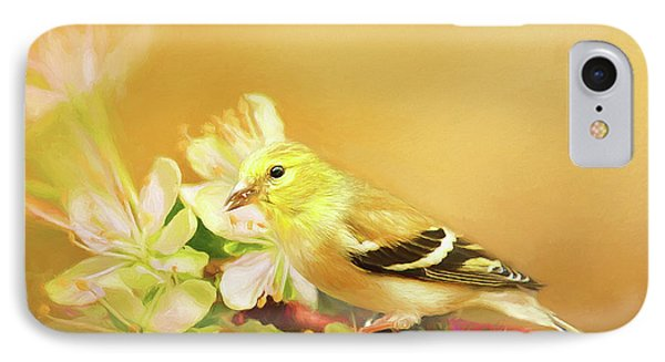 IPhone Case featuring the photograph Spring Song Bird by Darren Fisher
