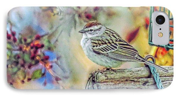 Spring Sparrow IPhone Case