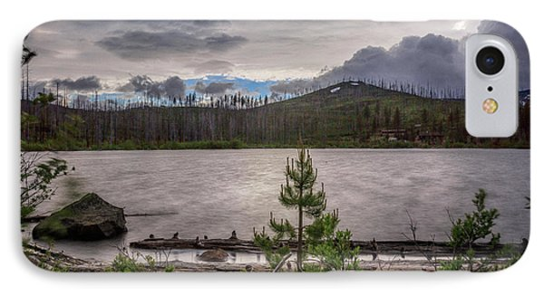 IPhone Case featuring the photograph Spring Storm At Round Lake by Cat Connor