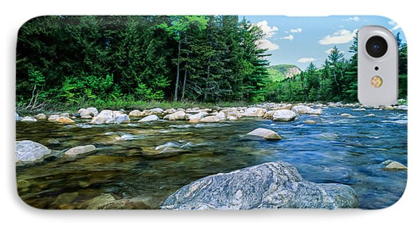 Spring-swift River Nh IPhone Case