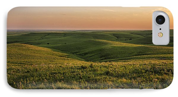 Spring Time On The Prairie IPhone Case by Scott Bean