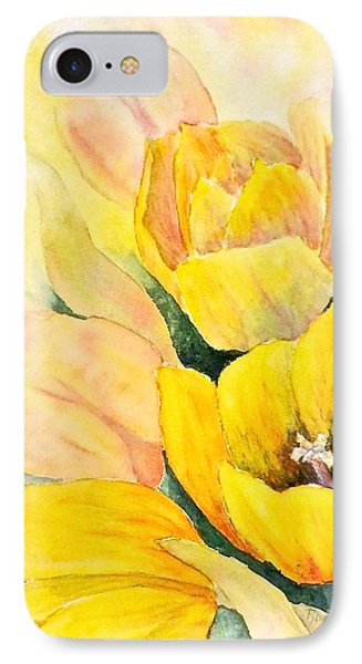 Spring Tulips IPhone Case by Carolyn Rosenberger
