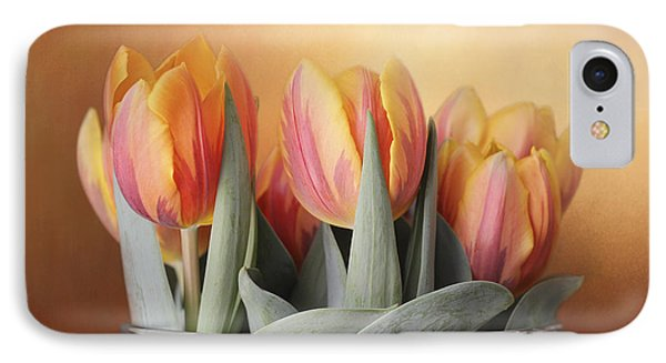IPhone Case featuring the photograph Spring Tulips by Kathleen Holley