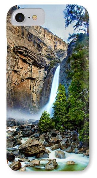 Yosemite National Park iPhone 7 Case - Spring Valley by Az Jackson