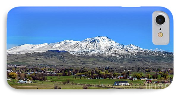 IPhone Case featuring the photograph Spring View Of Squaw Butte by Robert Bales